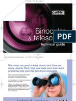 Binocular and Telescope Guide