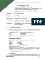 1.-Memoria Descriptiva Pacaycasa