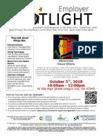Employer Spotlights October 2018