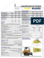 Kent Bulldozer TY220F
