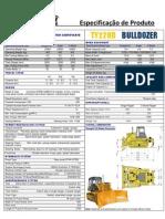 Kent Bulldozer TY220D