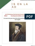 Depravación Total El Calvinismo a La Luz de La Biblia — Firmes en La Verdad