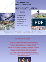 Currency Fluctuation