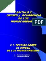 Cap 2 Origen y Ocurrencia de Los Hidrocarburos 2