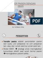 Transfer pasien dengan SBAR yuni.ppt