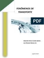APOSTILA DE FENOMENOS DE TRANSPORTE