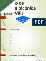 Diseño de antena bicónica para WiFi.pptx