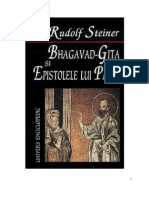 38207404 Bhagavad Gita Si Epistolele Lui Pavel Rudolf STEINER