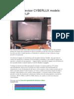 Falla en Televisor CYBERLUX Modelo