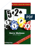 52 Tips for Texas Hold Em Poker -By Barry Shulman