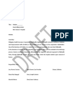 Request for Inclusion in the Hospital Process.docx