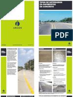 1.7 Deterioros en Pavimentos de Concreto
