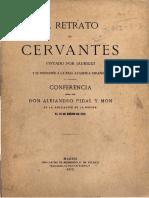 Cervantes, El Retrato Pintado Por Jaurigui