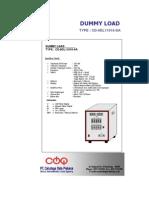 Brochure Dummy Load 110