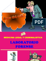 Medicina Legal - Laboratorio Forence