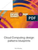 Cloud computing blueprint and challenges PDF