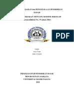 Analisis Kebijakan Komite Sekolah