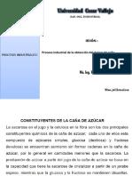 CLASE Producción de Azúcar de Caña.