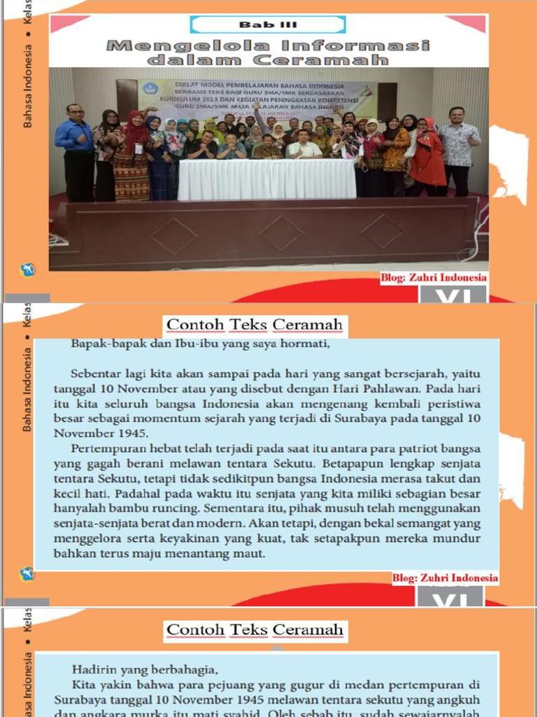 3 Ppt Teks Ceramah Blog Zuhri Indonesia