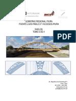 Expediente Puente Juan Pablo II y Accesos- Piura (Suelos) Tomo 3 de 4 - F. 2864@2768