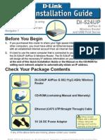 DI-524UP Qig en Quick-Install
