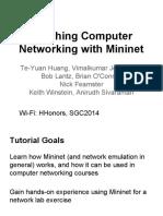 Mininet Intro