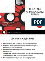 Creating and Managing Teams