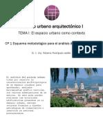 CP 1 Esquema Para Análisis Del Paisaje Urbano