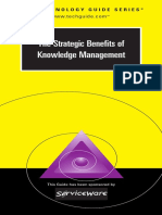 The Strategic Benefits of KM