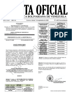 Gaceta Oficial Extraordinaria 6405 Junta Directiva PDVSA
