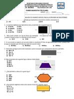 Exam Diagn. PLANEA Mat III 18 19