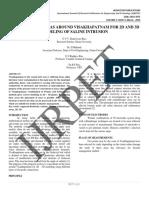 Modeling of Saline Intrusion
