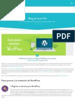15 pasos para instalar wordpress en tu servidor
