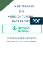 Plan Tutoria 2018