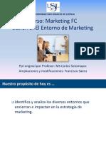 Sesion 3 El Entorno de Marketing