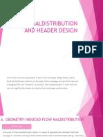 FLOW MALDISTRIBUTION AND HEADER DESIGN.pptx