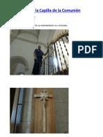 El Crucifijo de la Capilla de la Comunión
