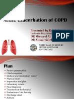 Acute Exacerbation of COPD (1)