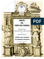 Pregon 2018 Cristo Consuelo Cazorla