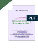 Bergson Sociologisme[1]