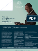 RMM-0044 Flash Opportunity - Talent and Culture Executive