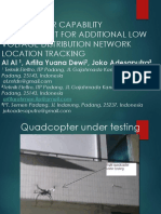 Quadcopter Capability Development for Additional Low Voltage Distribution
