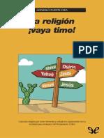Puente Ojea Gonzalo La Religion Vaya Timo