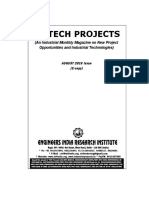 Industrial Project Report Magazine for New Entrepreneur