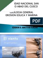 Erosion Eolica y Marina