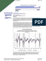 Economic Measures Continue to Slow