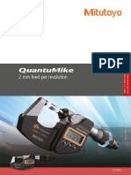 Mitutoyo - Mikrometry elektroniczne QuantuMike - PRE1489 - 2018 EN
