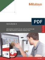 Mitutoyo - Oprogramowanie SPC MeasurLink 8 - PRE1388(3) - 2017 EN