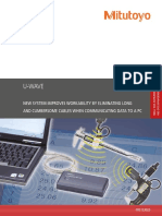 Mitutoyo - System Przenoszenia Danych U-Wave - PRE1330(3) - 2017 EN