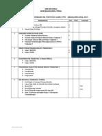 Senarai Semak Panitia Pbd